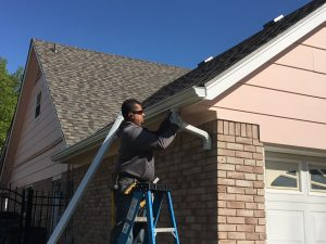 new gutters installed in tulsa oklahoma